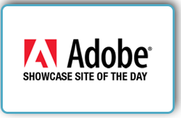 Web Design Award - Adobe Showcase